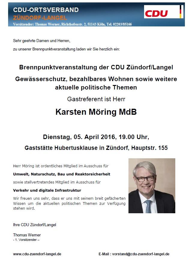 Brennpunkt K.Möring 05.04.2016