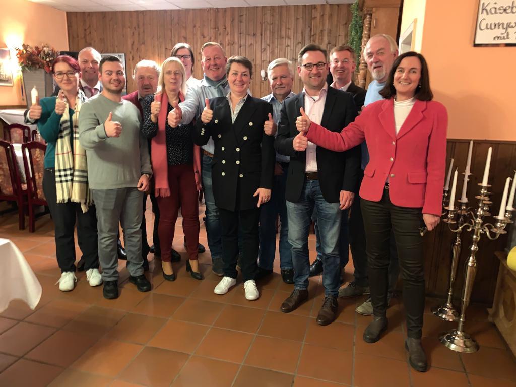 Vorstand nach der Wahl am 12.11.2019